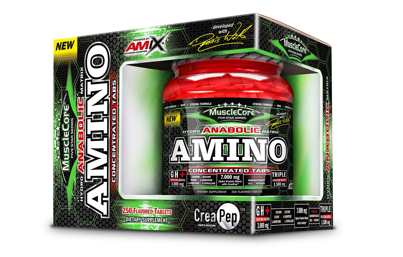 Amix Amino Tabs with CreaPep® 250 tablet