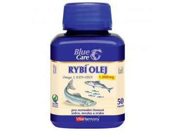 Blue Care rybí olej 50 tablet