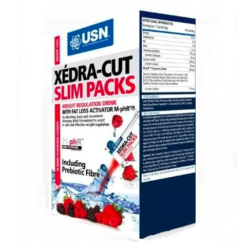Xedra Cut Slim packs 20 x 5 g USN